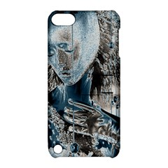 Feeling Blue Apple Ipod Touch 5 Hardshell Case With Stand