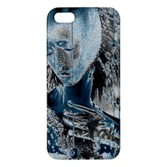 Feeling Blue Apple Iphone 5 Premium Hardshell Case