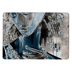 Feeling Blue Samsung Galaxy Tab 10 1  P7500 Flip Case