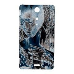 Feeling Blue Sony Xperia TX Hardshell Case