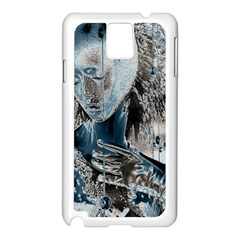 Feeling Blue Samsung Galaxy Note 3 N9005 Case (White)