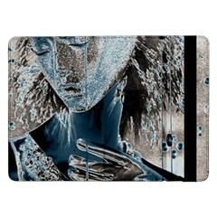 Feeling Blue Samsung Galaxy Tab Pro 12 2  Flip Case