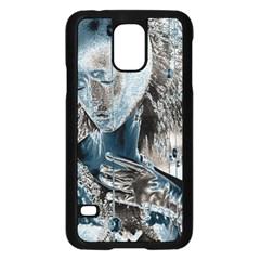 Feeling Blue Samsung Galaxy S5 Case (Black)