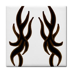 Dancing Fire Ceramic Tile