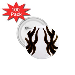 Dancing Fire 1 75  Button (100 Pack)