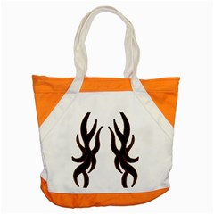 Dancing Fire Accent Tote Bag