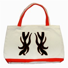 Dancing Fire Classic Tote Bag (Red)