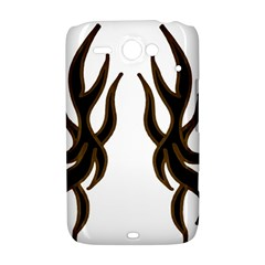 Dancing Fire HTC ChaCha / HTC Status Hardshell Case