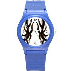 Dancing Fire Plastic Sport Watch (small)