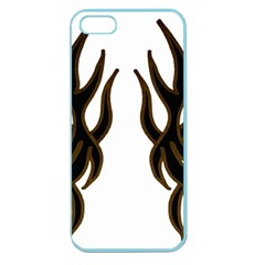 Dancing Fire Apple Seamless Iphone 5 Case (color)