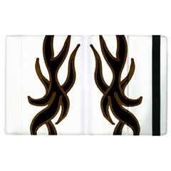 Dancing Fire Apple Ipad 3/4 Flip Case