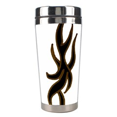 Dancing Fire Stainless Steel Travel Tumbler