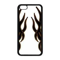 Dancing Fire Apple Iphone 5c Seamless Case (black)