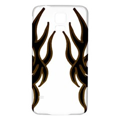 Dancing Fire Samsung Galaxy S5 Back Case (white)