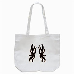 Dancing Fire Tote Bag (white)