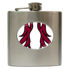 Dancing Fire 2 Hip Flask