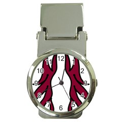 Dancing Fire 2 Money Clip With Watch