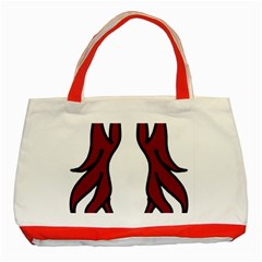 Dancing Fire 2 Classic Tote Bag (Red)