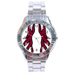 Dancing Fire 2 Stainless Steel Watch