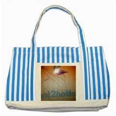 Img 20140722 173225 Blue Striped Tote Bag