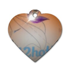 Img 20140722 173225 Dog Tag Heart (Two Sided)