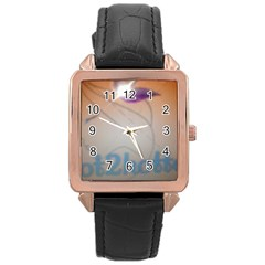 Img 20140722 173225 Rose Gold Leather Watch