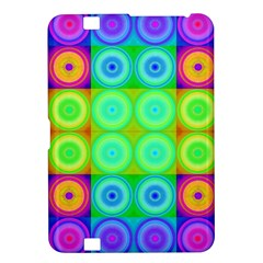 Rainbow Circles Kindle Fire HD 8.9  Hardshell Case