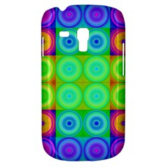 Rainbow Circles Samsung Galaxy S3 Mini I8190 Hardshell Case