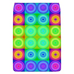 Rainbow Circles Removable Flap Cover (Large)
