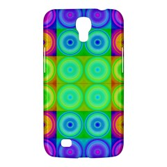 Rainbow Circles Samsung Galaxy Mega 6 3  I9200 Hardshell Case