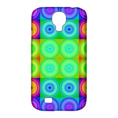 Rainbow Circles Samsung Galaxy S4 Classic Hardshell Case (pc+silicone)