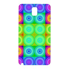 Rainbow Circles Samsung Galaxy Note 3 N9005 Hardshell Back Case