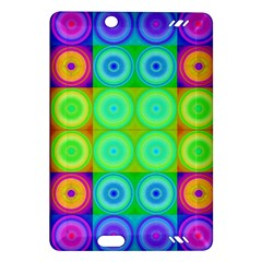 Rainbow Circles Kindle Fire Hd 7  (2nd Gen) Hardshell Case