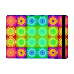 Rainbow Circles Apple Ipad Mini 2 Flip Case