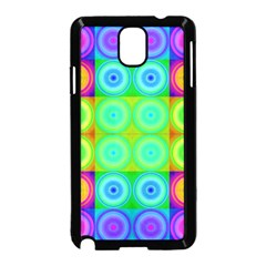 Rainbow Circles Samsung Galaxy Note 3 Neo Hardshell Case (black)