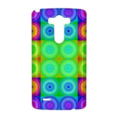 Rainbow Circles LG G3 Hardshell Case