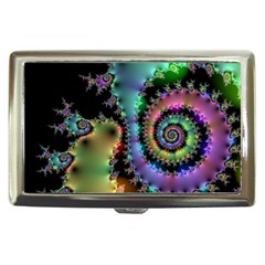 Satin Rainbow, Spiral Curves Through The Cosmos Cigarette Money Case