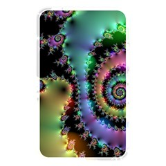 Satin Rainbow, Spiral Curves Through The Cosmos Memory Card Reader (rectangular)