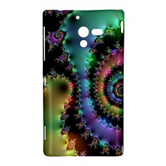Satin Rainbow, Spiral Curves Through the Cosmos Sony Xperia ZL (L35H) Hardshell Case