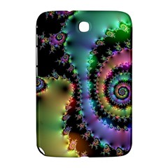 Satin Rainbow, Spiral Curves Through the Cosmos Samsung Galaxy Note 8.0 N5100 Hardshell Case