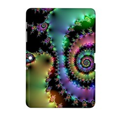 Satin Rainbow, Spiral Curves Through the Cosmos Samsung Galaxy Tab 2 (10.1 ) P5100 Hardshell Case