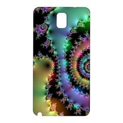 Satin Rainbow, Spiral Curves Through the Cosmos Samsung Galaxy Note 3 N9005 Hardshell Back Case
