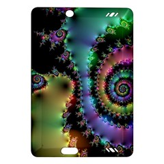 Satin Rainbow, Spiral Curves Through the Cosmos Kindle Fire HD 7  (2nd Gen) Hardshell Case