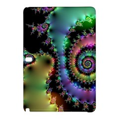 Satin Rainbow, Spiral Curves Through the Cosmos Samsung Galaxy Tab Pro 10.1 Hardshell Case