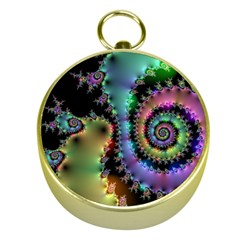 Satin Rainbow, Spiral Curves Through The Cosmos Gold Compass