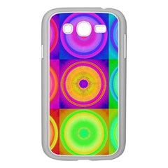 Retro Circles Samsung Galaxy Grand DUOS I9082 Case (White)