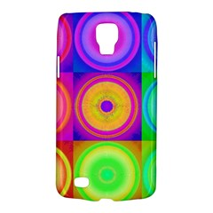Retro Circles Samsung Galaxy S4 Active (i9295) Hardshell Case