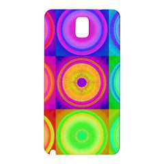 Retro Circles Samsung Galaxy Note 3 N9005 Hardshell Back Case