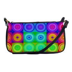 Rainbow Circles Evening Bag
