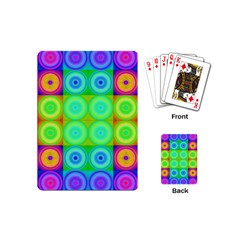 Rainbow Circles Playing Cards (mini)